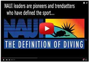 Watch a video about NAUI and The Definition of Diving
